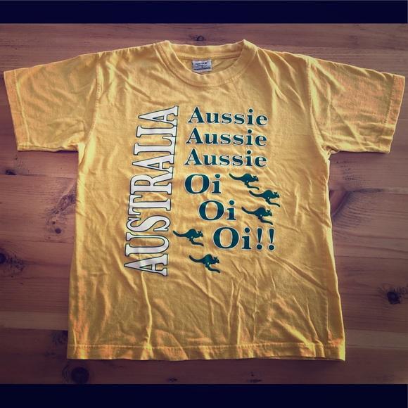 Vintage Australia indie men's tee shirt
